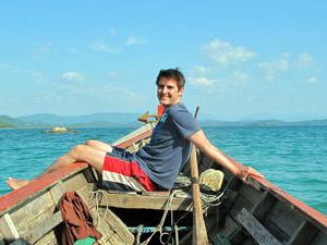 Myanmar Ngapali strand