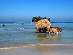 Ngapali strand Myanmar