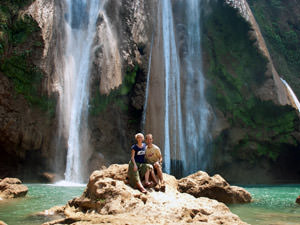 watervallen bij Pyin Oo Lwin