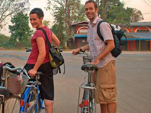 fietsen in Pyin Oo Lwin