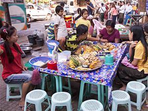 Bbq in Yangon