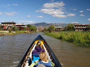 Inle lake, reizen naar Birma