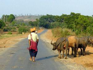 Myanmar onderweg