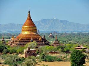 Bagan Myanmar budget reis