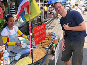 Myanmar Bangkok Thailand - lokale markt