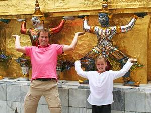 Myanmar reis, tussenstop Bangkok