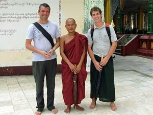 einde Birma rondreizen