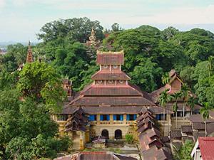 Zuid Birmam Seindon Mibaya klooster