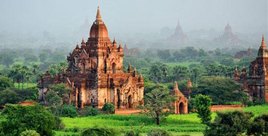 Myanmar reis bagan