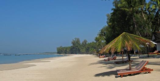 Myanmar reis kust