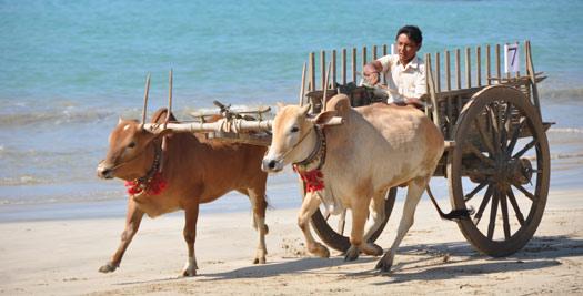 Myanmar vakantie strand