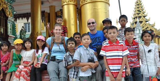 Myanmar reis tempel