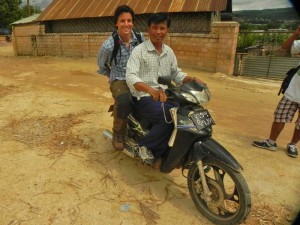 Myanmar vakantie brommer