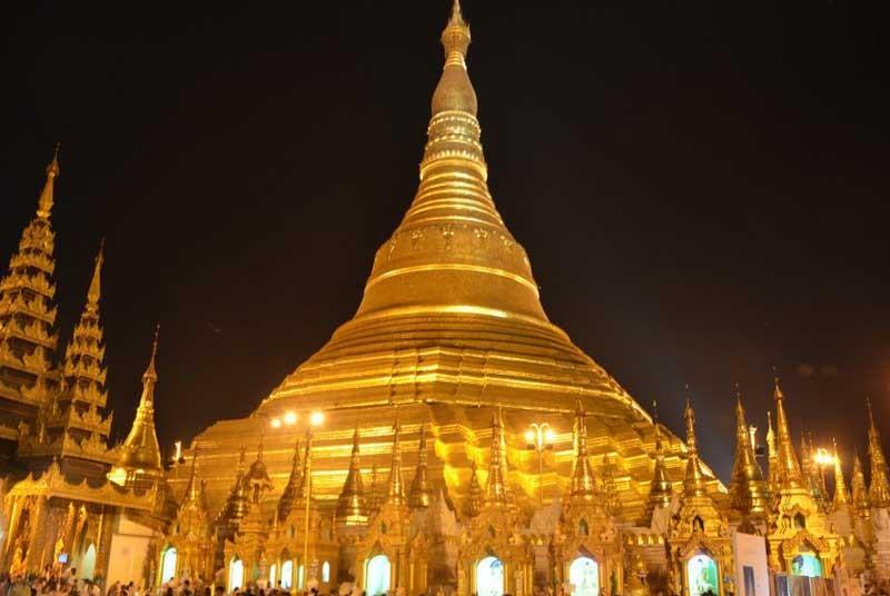 Tempel Myanmar vakantie