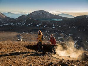 Vulkane im Tongariro Nationalpark - Neuseeland Gruppenreise