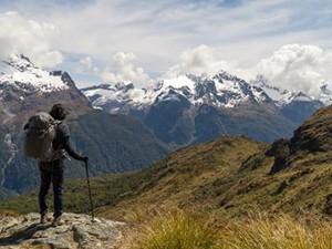 Neuseelands Südliche Alpen auf dem Routeburn Track