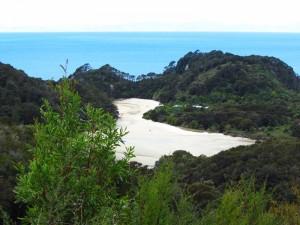 Aussicht während des Abel Tasman Coast Track