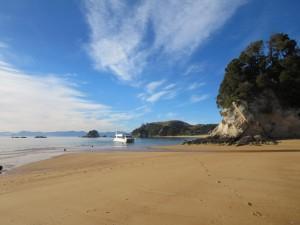 Tolle Strände im Abel Tasman NP