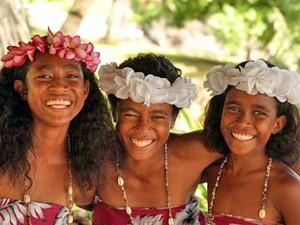 Einheimische Fijis
