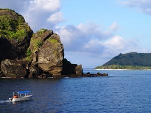 Erkunden Sie die Vielfältigkeit Fidschis vom Boot aus