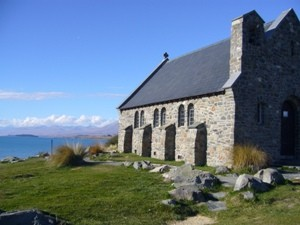 Church of the Good Shephard am Lake Tekapo