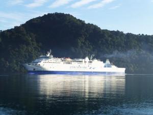 Neuseeland-Marlborouh-Sound-Fährüberfahrt