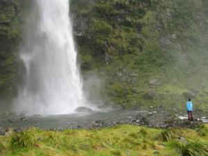 Wasserfälle an der Wanderstrecke