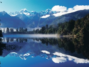 Mount Cook Reflektion im See © Rob Suisted