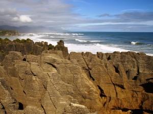 Besuchen Sie die Pancake Rocks