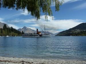 Bootsfahrt auf dem Lake Wakatipu nach 3 Wochen Neuseeland