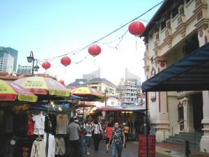 Markt in Chinatown in Singapur