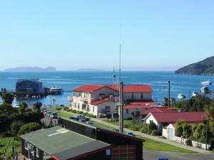Hafen von Oban auf Stewart Island