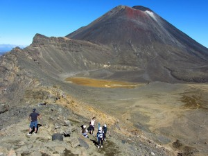 Tongariro Alpine Crossing auf der Nordinsel
