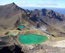Wandern durch den Tongariro Nationalpark
