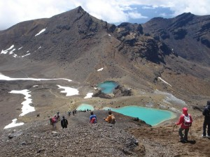 4 Wochen Neuseeland-Tongariro Alpine Crossings