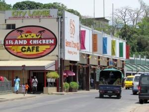 Stadtzentrum von Port Vila