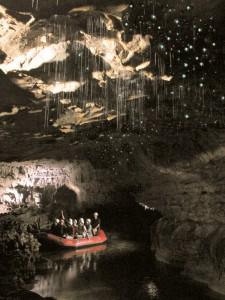 Unterirdische Höhlen in Waitomo