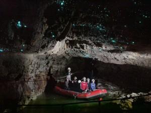 Glühwürmchenhöhlen in Waitomo