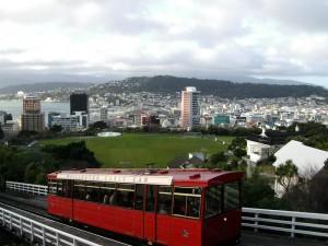 Genießen Sie die Fahrt mit dem Cable Car in Wellington