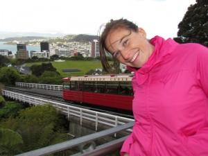Mit dem Cable Car erreichen Sie bequem den Botanischen Garten von Wellington