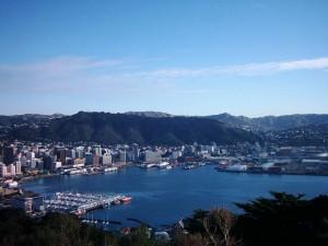 Neuseeland-wellington-hafen-panorama