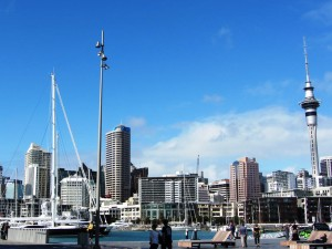 Neuseeland-auckland-boote-skytower
