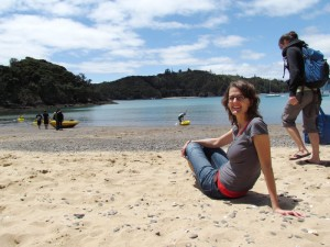Strand in der Bay of Islands
