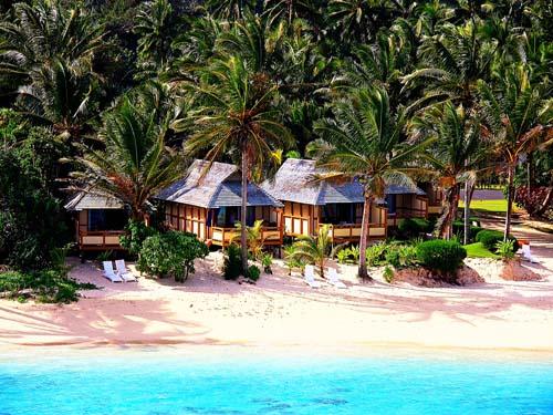 Bungalow am Strand von Rarotongaa