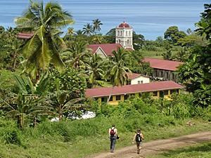 Landschaft auf den Fijis