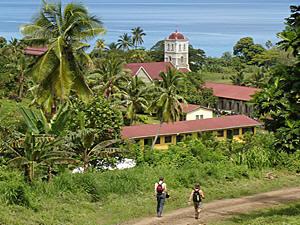 Landschaft der Fidschis