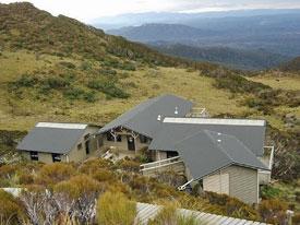 Hütten auf dem Humpridge Track