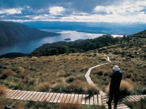 Neuseeland-Wanderung-Fjordlandschaft