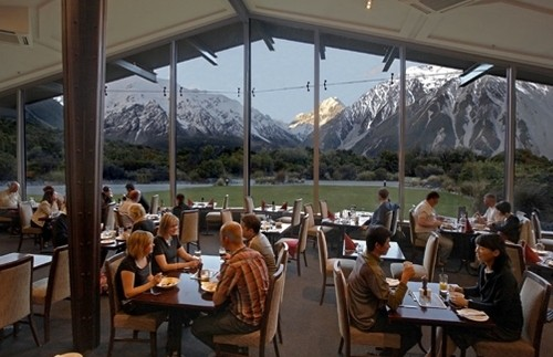 Restaurant am Mount Cook
