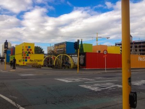 Bunte Shopping Mall in Christchurch